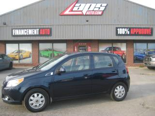 Used 2010 Chevrolet Aveo LS for sale in Ste-Catherine, QC