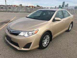 Used 2012 Toyota Camry LE for sale in Mississauga, ON