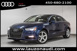 Used 2016 Audi A3 1.8t Komfort Styling for sale in Laval, QC