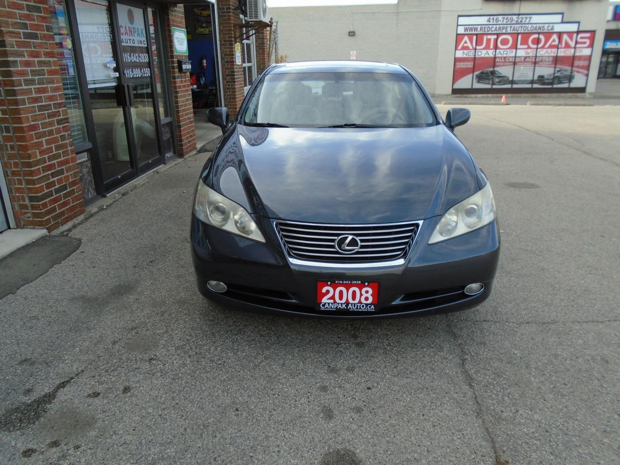 Photo of Grey 2008 Lexus ES 350