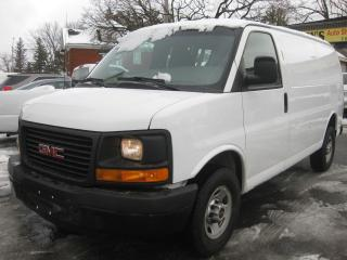 Used 2013 GMC Savana 2500 Cargo Van 4.8L 8cyl AC 2 pass for sale in Ottawa, ON