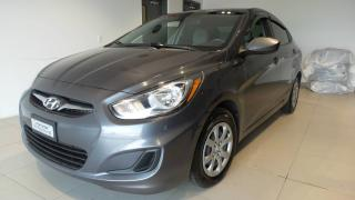 Used 2012 Hyundai Accent Berline 4 portes, boîte manuelle, GL for sale in St-raymond, QC