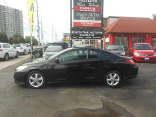 Used 2006 Toyota Camry Solara SE / SUNROOF / ALLOYS / NEW BRAKES / for sale in Scarborough, ON