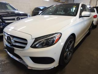 Used 2016 Mercedes-Benz C 300 AMG PACK, NAVI, BACK UP CAMERA, PANO ROOF for sale in Mississauga, ON