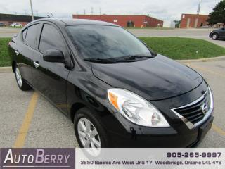 Used 2014 Nissan Versa SL 1.6L ** Accident Free ** Certified ** for sale in Woodbridge, ON