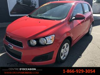 Used 2014 Chevrolet Sonic 5 portes à hayon LS à b. man. for sale in St-Georges-de-Champlain, QC