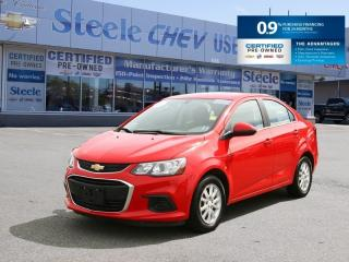 Used 2018 Chevrolet Sonic LT - Gas Sipper with Low Mileage! for sale in Dartmouth, NS