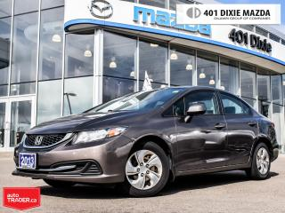 Used 2013 Honda Civic LX (A5),FINANCE AVAILABLE, BLUETOOTH,CRUISE for sale in Mississauga, ON
