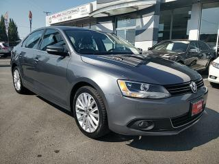 Used 2012 Volkswagen Jetta HIGHLINE TDI Turbo-Diesel GREAT FUEL ECONOMY for sale in Langley, BC