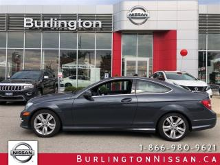 Used 2013 Mercedes-Benz C-Class 350 COUPE, ACCIDENT FREE & SNOW TIRES ! for sale in Burlington, ON