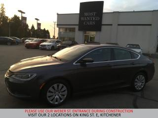 Used 2016 Chrysler 200 LX | BLUETOOTH | TOUCHSCREEN | USB for sale in Kitchener, ON