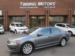 Used 2015 Volkswagen Passat COMFORTLINE | NO ACCIDENT | 1.8 TSI | LEATHER | SUNROOF | for sale in Mississauga, ON