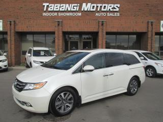 Used 2014 Honda Odyssey TOURING | NAVIGATION | LEATHER | DVD | SUNROOF for sale in Mississauga, ON
