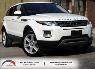 Used 2015 Land Rover Evoque Pure Plus|Navigation|Lane Departure|BSM|Surround Cam for sale in Toronto, ON