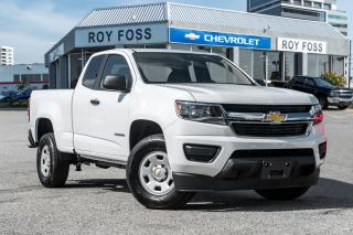 Used 2017 Chevrolet Colorado 2017 COLORADO EXT CAB, SWB, WT for sale in Thornhill, ON