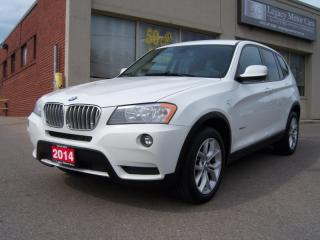 Used 2014 BMW X3 28i xDrive / Navigation for sale in North York, ON