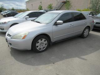 Used 2003 Honda Accord LX-V6 , LOW KMS!! WOW!! for sale in Brampton, ON