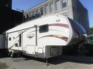 Used 2014 Gulf Stream Canyon Trail 37RBDS 37 Foot Fifth Wheel Travel Trailer with 4 Slide Outs and Bunks for sale in Burnaby, BC