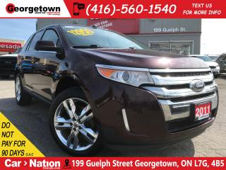 Used 2011 Ford Edge Limited | NAVI | AWD | LEATHER | PANO ROOF | for sale in Georgetown, ON