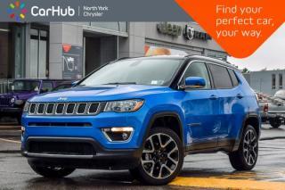 New 2017 Jeep Compass Limited 4X4|Nav|Keyless_Go|Heat Frnt Seats&Wheel|19