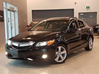 Used 2014 Acura ILX PREMIUM PKG-LEATHER-ROOF-CAMERA-NEW TIRES for sale in York, ON
