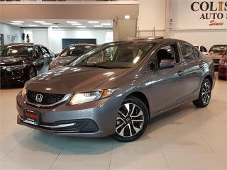 Used 2014 Honda Civic Sedan EX-AUTO-SUNROOF-CAMERA-NEW TIRES for sale in York, ON