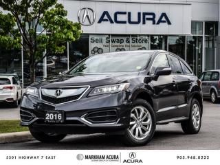 Used 2016 Acura RDX at - V6 AWD for sale in Markham, ON