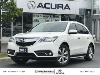 Used 2016 Acura MDX Elite - Coming Soon for sale in Markham, ON