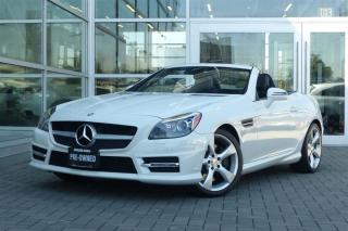 Used 2013 Mercedes-Benz SLK 250 Roadster Auto *Low Kms* for sale in Vancouver, BC