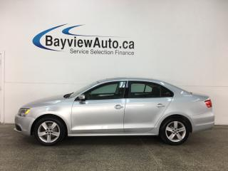 Used 2014 Volkswagen Jetta 1.8 TSI Comfortline - ALLOYS! SUNROOF! HTD SEATS! BLUETOOTH! CRUISE! for sale in Belleville, ON