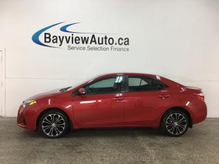 Used 2014 Toyota Corolla - ALLOYS! PANOROOF! HTD LTHR! REVERSE CAM! SPORT MODE! for sale in Belleville, ON