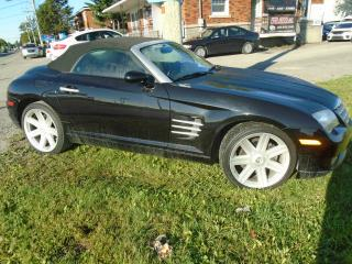 Used 2007 Chrysler Crossfire Roadster 2 portes Limited for sale in Mirabel, QC