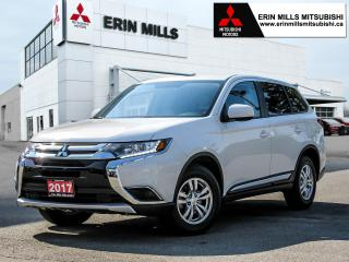 Used 2017 Mitsubishi Outlander ES AWC, Heated Front Seats, Dual Climate Control, Bluetooth for sale in Mississauga, ON