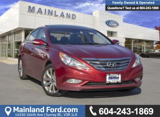Used 2012 Hyundai Sonata 2.0T Limited *LOCALLY DRIVEN* for sale in Surrey, BC