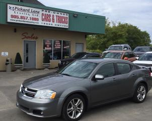 Used 2013 Dodge Avenger SXT CERTIFIED!!!!!! for sale in Bolton, ON