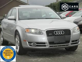 Used 2006 Audi A4 2.0 T quattro for sale in Ottawa, ON