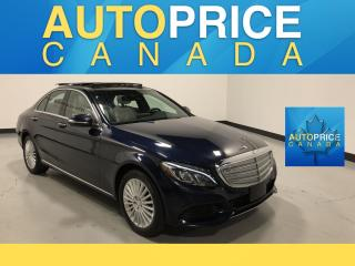 Used 2015 Mercedes-Benz C-Class NAVIGATION|PANOROOF|LEATHER for sale in Mississauga, ON