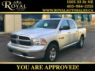 Used 2013 RAM 1500 SLT USB/AUX PORT, U CONNECT ***PRICE REDUCED*** for sale in Calgary, AB