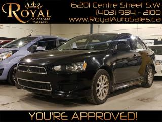 Used 2014 Mitsubishi Lancer SE  w/ HEATED SEATS, BLUETOOTH for sale in Calgary, AB