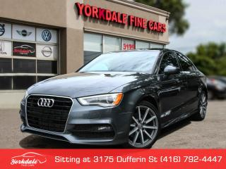 Used 2015 Audi A3 1.8T Progressiv S Line. Navigation. Panoramic. Leather. for sale in Toronto, ON