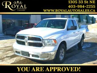 Used 2014 RAM 1500 SLT INT PHONE, STREAMING AUDIO ***PRICE REDUCED*** for sale in Calgary, AB