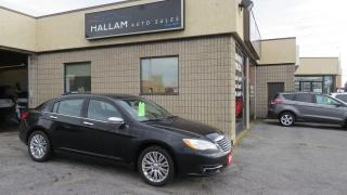 Used 2011 Chrysler 200 Limited Power Sunroof, Heated Seats, Touch Screen for sale in Kingston, ON