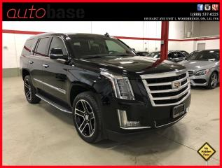 Used 2016 Cadillac Escalade LUXURY COLLECTION CERTIFIED! CLEAN CARPROOF! for sale in Vaughan, ON