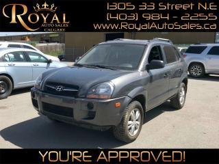Used 2009 Hyundai Tucson GL AUX PORT, MP3 PLAYER, HEATED SEATS for sale in Calgary, AB