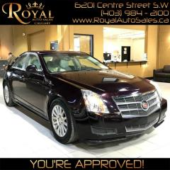 Used 2010 Cadillac CTS SEDAN for sale in Calgary, AB