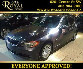 Used 2007 BMW 328 328xi SUNROOF, LEATHER, AWD for sale in Calgary, AB