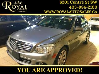 Used 2011 Mercedes-Benz C-Class C 250 BLUETOOTH, LEATHER, SUNROOF for sale in Calgary, AB