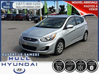 Used 2015 Hyundai Accent Gl, Bien équipée for sale in Gatineau, QC