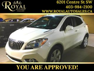 Used 2015 Buick Encore Leather for sale in Calgary, AB