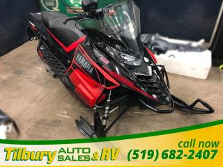 Used 2017 Yamaha SRVIPER R-TX DX. 129. TALL WINDSHIELD. STUDDED TRACK. for sale in Tilbury, ON